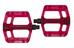 NC-17 Sudpin Zero Pro Pedal rot